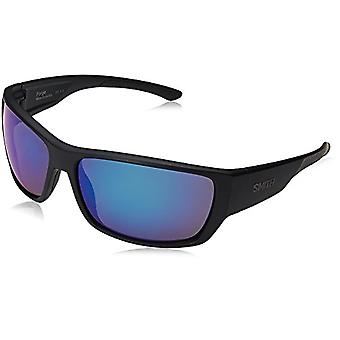 SMITH Forge Jy 003 64 Sunglasses, Black (Matt Black/Grey), Man