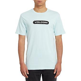 Volcom New Euro Short Sleeve T-Shirt in Resin Blue