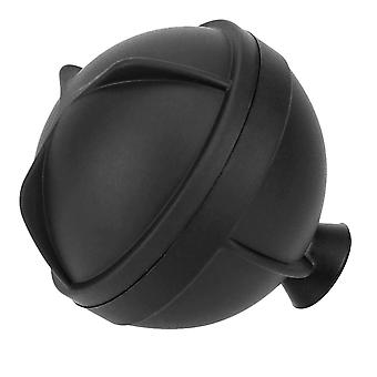 6 cm Ball Ice Molds DIY Home Bar Party Cocktail Use Sphere Round Ball Ice Cube (7*7*6.5cm,black)