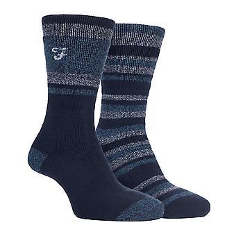 Farah - 2 pk mens thermal walking boot socks