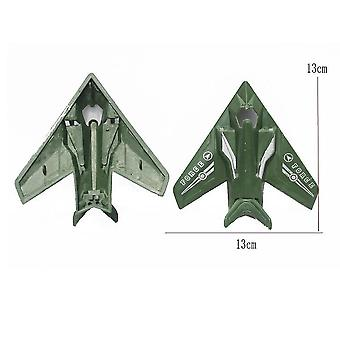 New World War 2 Army Stealth Fighter Simulation Plastic Battlefield Figures ES12791