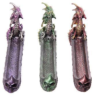 Dark Legends Dragon Incense Ashcatcher Boat (1 willekeurig geleverd)