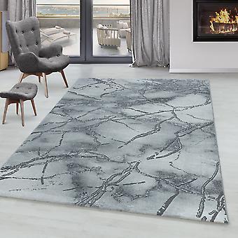 Woonkamer tapijt OXIA korte stapel ontwerp patroon gemarmerd