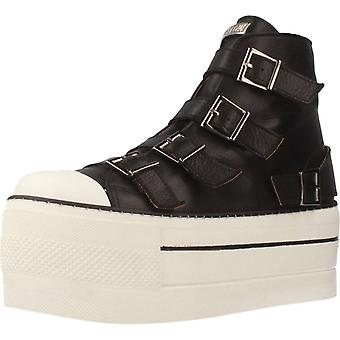 Gele sport/Elektra schoenen kleur zwart