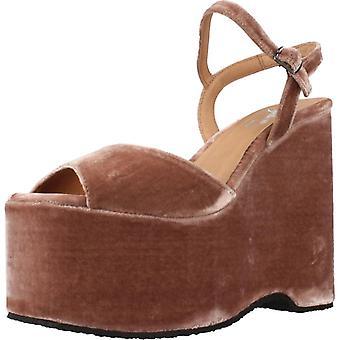 Gele sandalen Oostenrijk roze kleur