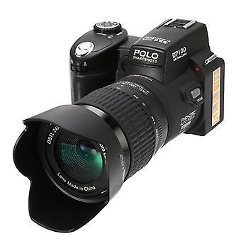2021 المهنية HD الكامل DSLR HD 1920 * 1080 كاميرا رقمية فيديو دعم بطاقة SD عدسة واسعة حقيبة الصور المحمولة البصرية