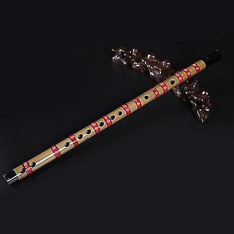 חליל במבוק חליל סיני לאומי דיזי כלי נגינה סגול
