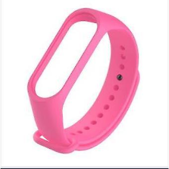 Farben Armband für Xiaomi Mi Band 6 5 4 3 Sport Armband Uhr Silikon Armband