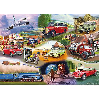 Gibsons Iconic Engines Puzzle (1000 pièces)