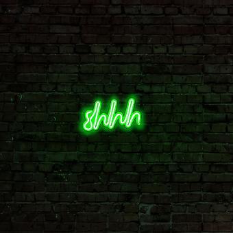 Shhh - Grüne Grüne Wandleuchte