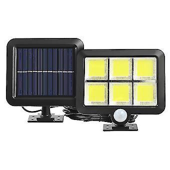 Auringon halkaistu tyyppi ihmiskehon induktiolamppu, LED ulkopihan seinävalaisin(120COB)