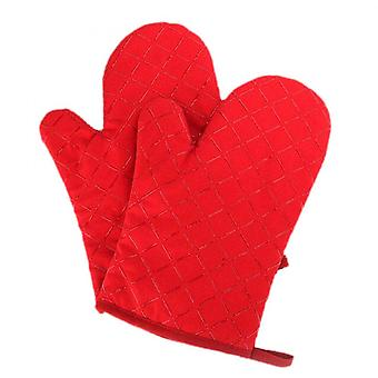 Oven Mitts Heat Resistant 230 Degrees- Non Slip Silicon Kitchen Gloves For Grilling/cooking/baking/barbecue 1 Pair