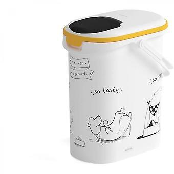 Nádoba na zakrivenie potravín pre psa - 4 kg - 10l