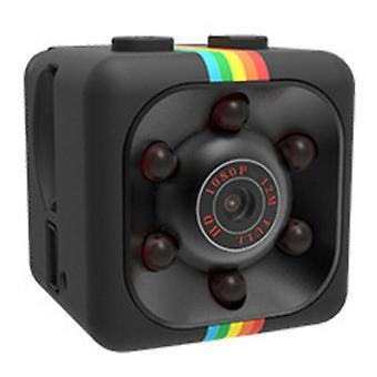 (Negro) HD 1080P Wifi inalámbrico Mini cámara IP CCTV Visión nocturna en / Exterior Seguridad en el hogar