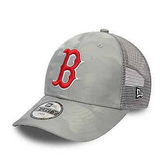 New Era 9Forty Kids Trucker Cap - Boston Red Sox camo cinza