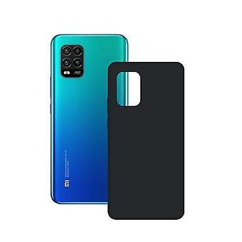 Mobiilikotelo Xiaomi Mi 10 Lite 5G Ota yhteyttä TPU Black