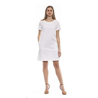 Peserico bianco v2 bianco white dress