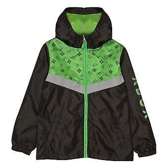 Crianças XBox Rain Mac Controller Oficial Boys Jacket Jacket Com Capuz Zip Up