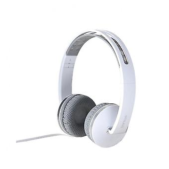 Gs-785 Wired Foldable Music Headphone Headset With Microphone For Iphone Samsung Huawei Nokia Xiaomi White Color