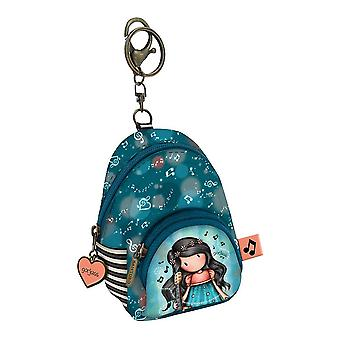 Purse Keyring This One's for You Gorjuss Turquoise