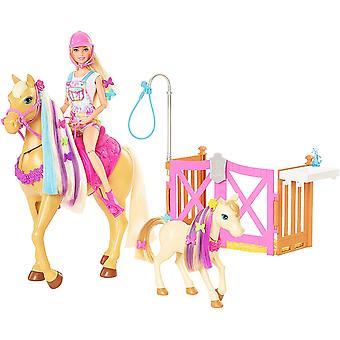 Barbie brudgommen 'n Omsorg hester lekesett