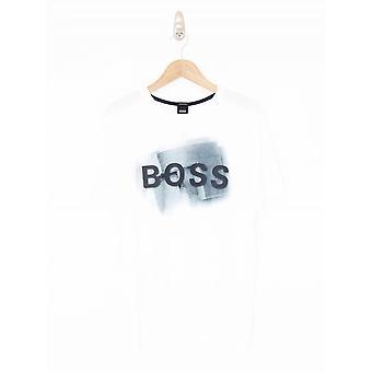 BOSS Casual Tlogo T.Shirt - White