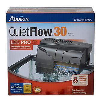Aqueon QuietFlow LED برو مرشح الطاقة - QuietFlow 30 (أحواض السمك تصل إلى 30 غالون)