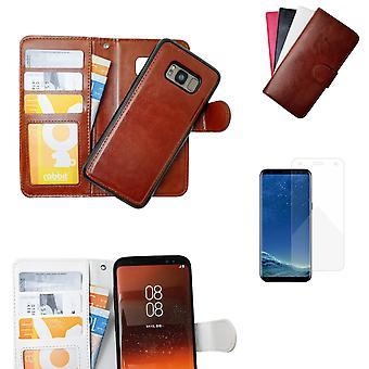 Custodia/copertina in pelle Samsung Galaxy S8 Plus