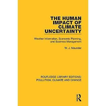 L'impact humain de l'incertitude climatique