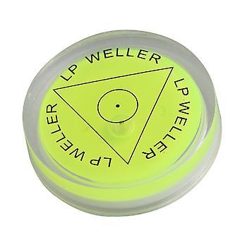 Проигрыватели проигрывателей зеленый круглый пузырь духа уровня для винилового проигрывателя проигрывателя ppm-2151