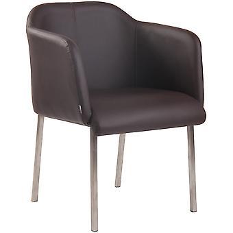 Esszimmerstuhl - Esszimmerstühle - Küchenstuhl - Esszimmerstuhl - Modern - Braun - 61 cm x 61 cm x 80 cm