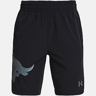 Under Armour Project Rock Woven Shorts Junior