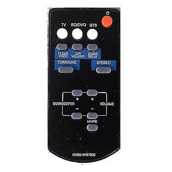 FSR60 WY57800 Für Yamaha Sound Bar Fernbedienung WY57800 YAS101 YAS101BL