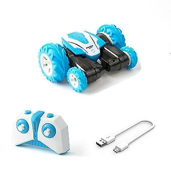 Rc coche 2.4g para acrobacias, deriva, buggy de deformación capaz de volteretas de 360 grados para niños(2)