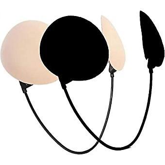 Damen Trägerloser Push-up Frontless Deep BH Kit Deluxe Edition Rückenlos Trägerlos Unsichtbarer BH zum Eintauchen Neu