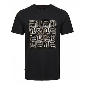 ルーク 1977 ルーク・デ・ウルフ ボックス ロゴ Tシャツ ノワール