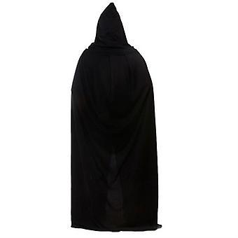 Long Hooded Cloak Halloween Reaper Deluxe Cape Costume Accessory