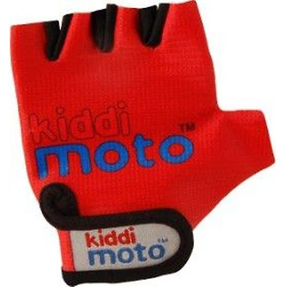 Kiddimoto Cycling Gloves Red