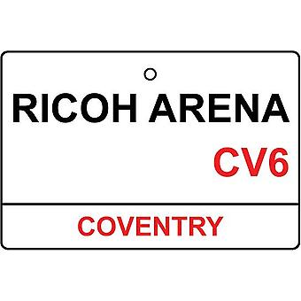 Coventry / Ricoh Arena Street Sign auto luchtverfrisser