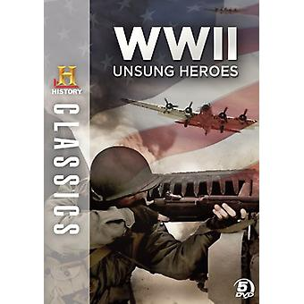 WW2: Unsung helter [DVD] USA importere