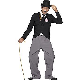 Chaplin kostým 20 komik Charlie Chaplin kostým