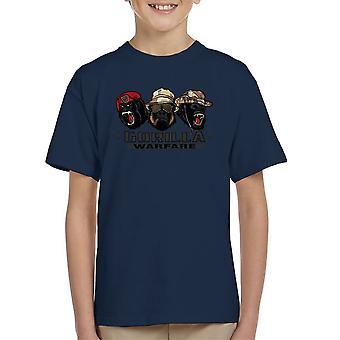 Gorilla Warfare Kid's T-Shirt