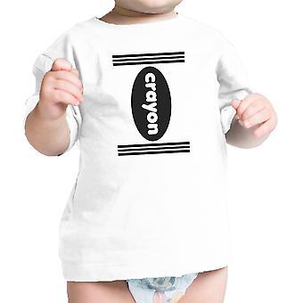 تلوين زي بيبي قميص القطن الأبيض هالوين بيبي المحملة الهدايا