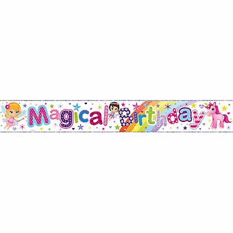 Simon Elvin Magical Birthday Foil Banner