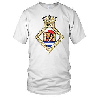Royal Navy HMS Sultan damer T skjorte