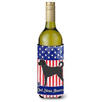 Labradoodle garrafa de vinho americano Beverge isolador Hugger