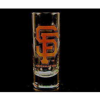 "San Francisco Giants MLB ""Hype"" Tall Shot Glass"