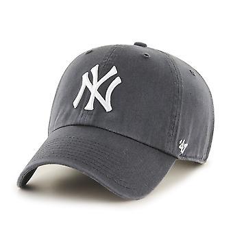 47 النار غطاء مناسباً استرخاء-رمادي داكن MLB نيويورك يانكيز