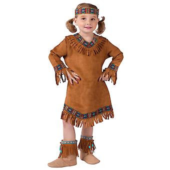 Native American Indian Princess Pocahontas Book Week Toddler Girls Costume