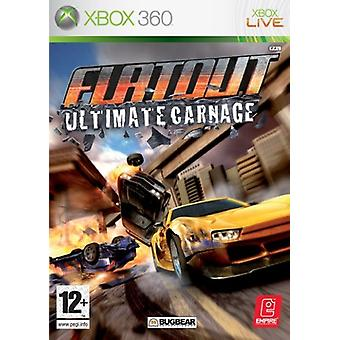 Flatout Ultimate Carnage (Xbox 360) - New